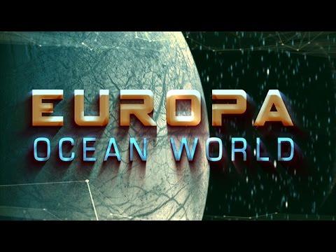 木星の海洋世界エウロパ