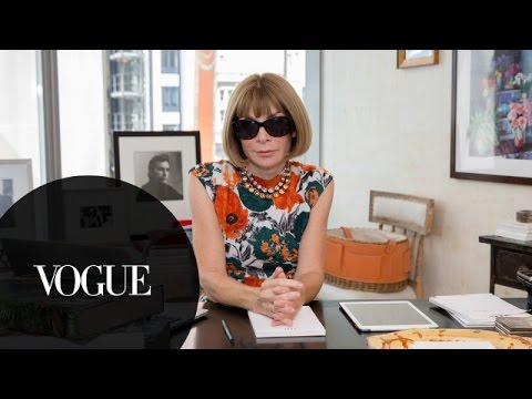 「『VOGUE』編集長アナ・ウィンターに73の質問」- 73 Questions with Anna Wintour