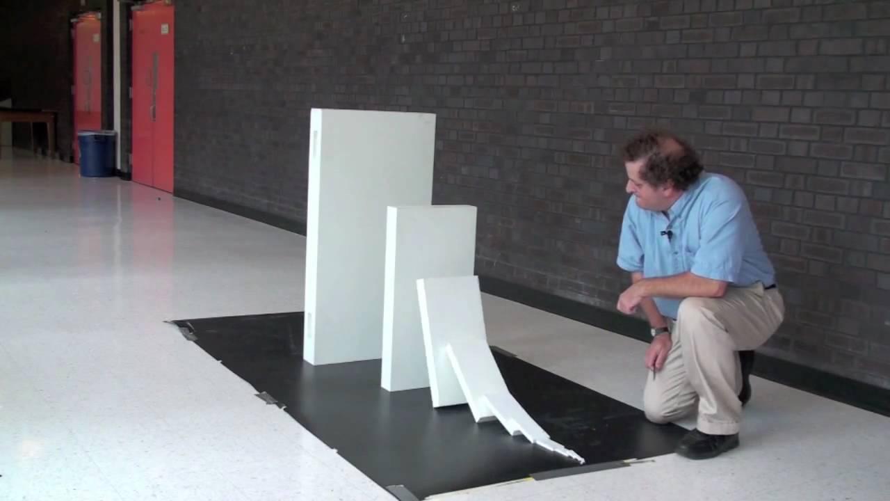 5mmが381mを倒せるか!?ドミノ大実験
