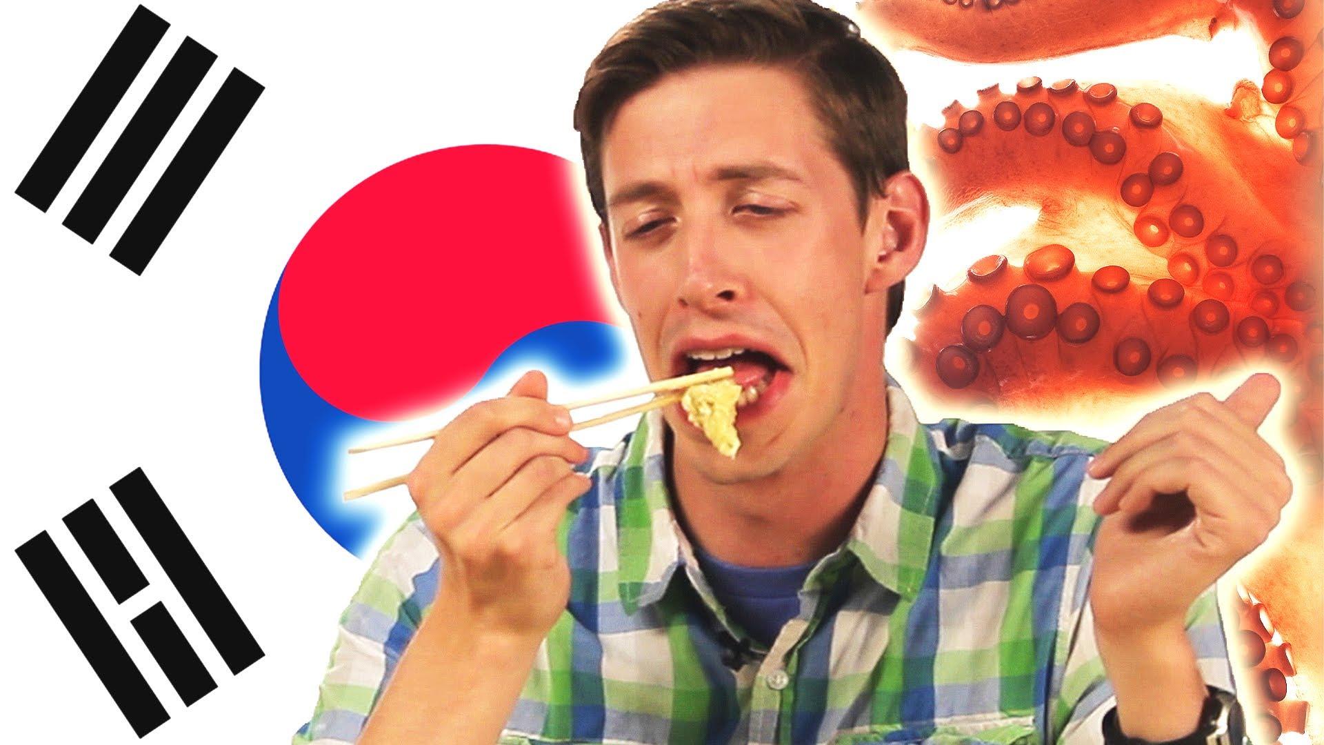 気絶寸前大パニック?!アメリカ人がアジア料理に挑戦した結果…
