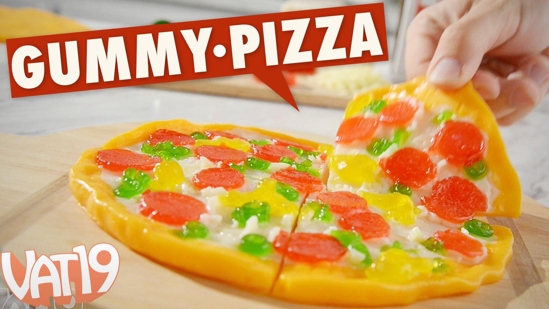 1度食べたら病みつき!?新感覚グミピザ