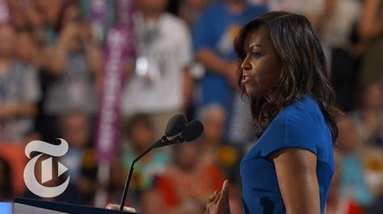 「【最新ニュース】全米が泣いた、ミシェル・オバマ夫人の演説」- Michelle Obama's Convention Speech