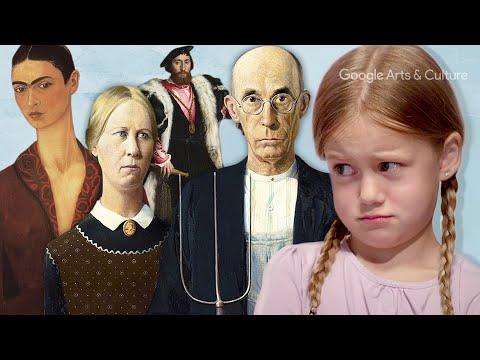 何に見える?5歳少女vs.芸術専門家