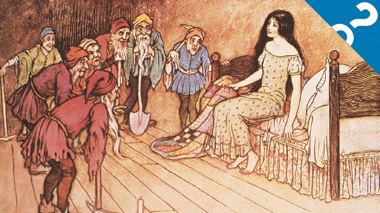 身の毛もよだつ、本当は怖いグリム童話