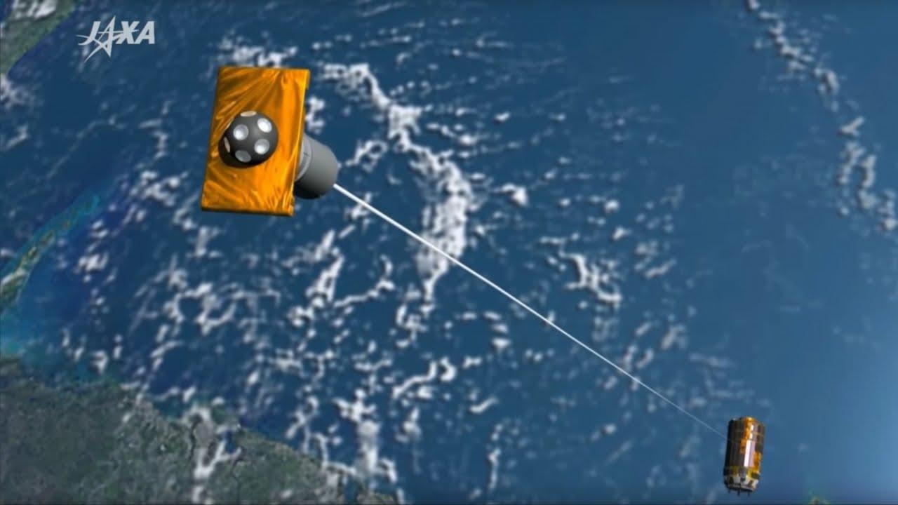 「【最新ニュース】未来を救え!『こうのとり』で挑む宇宙ごみ対策」- Japan's Magnetic Tether Could Clean up Space