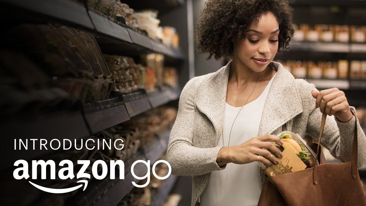 レジ不要!近未来型コンビニ『Amazon Go』オープン