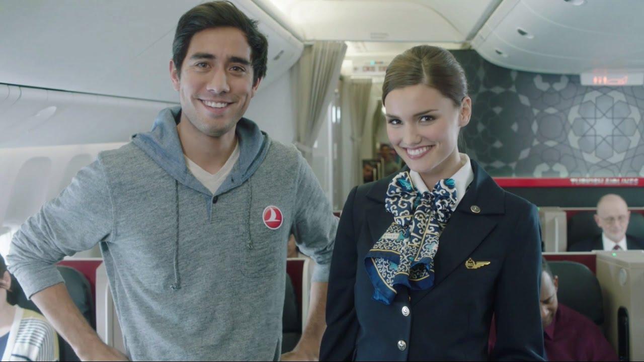「何が飛び出す?『6秒の魔術師』が仕掛ける機内安全ビデオ」 - Turkish Airlines Safety Video with Zach King