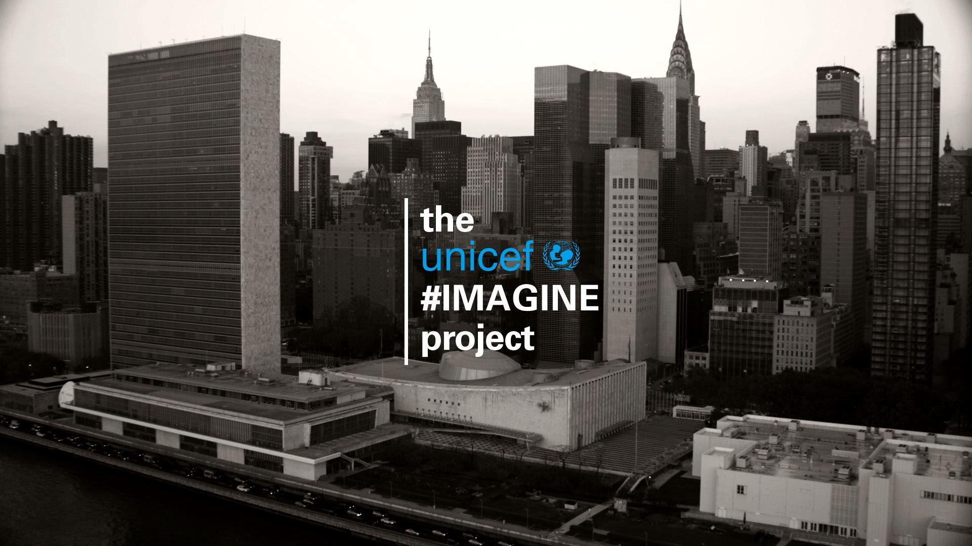 「UNICEF子供達のために豪華有名人が歌う『Imagine』」- UNICEF: Imagine a Better Future for All Children