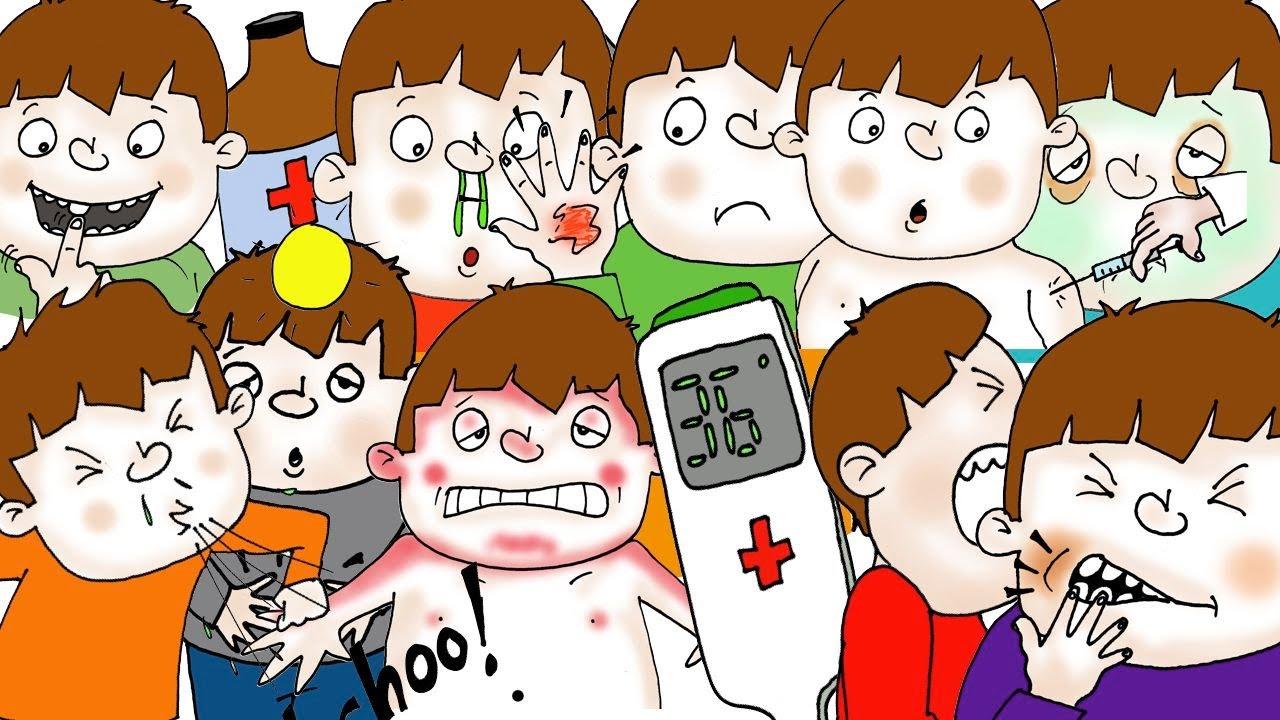 「歌で覚える!病気の症状大全集」- Health Phrases