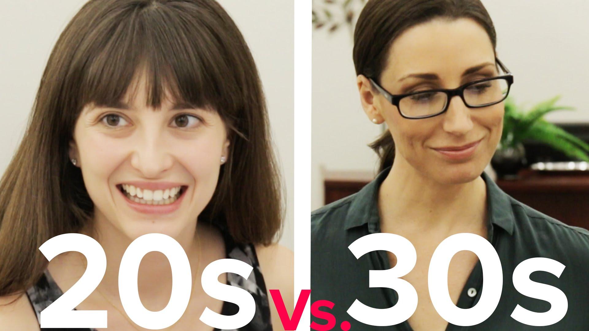 「徹底比較ヤングな20代 vs 大人な30代のデート」- Dating: 20s vs. 30s