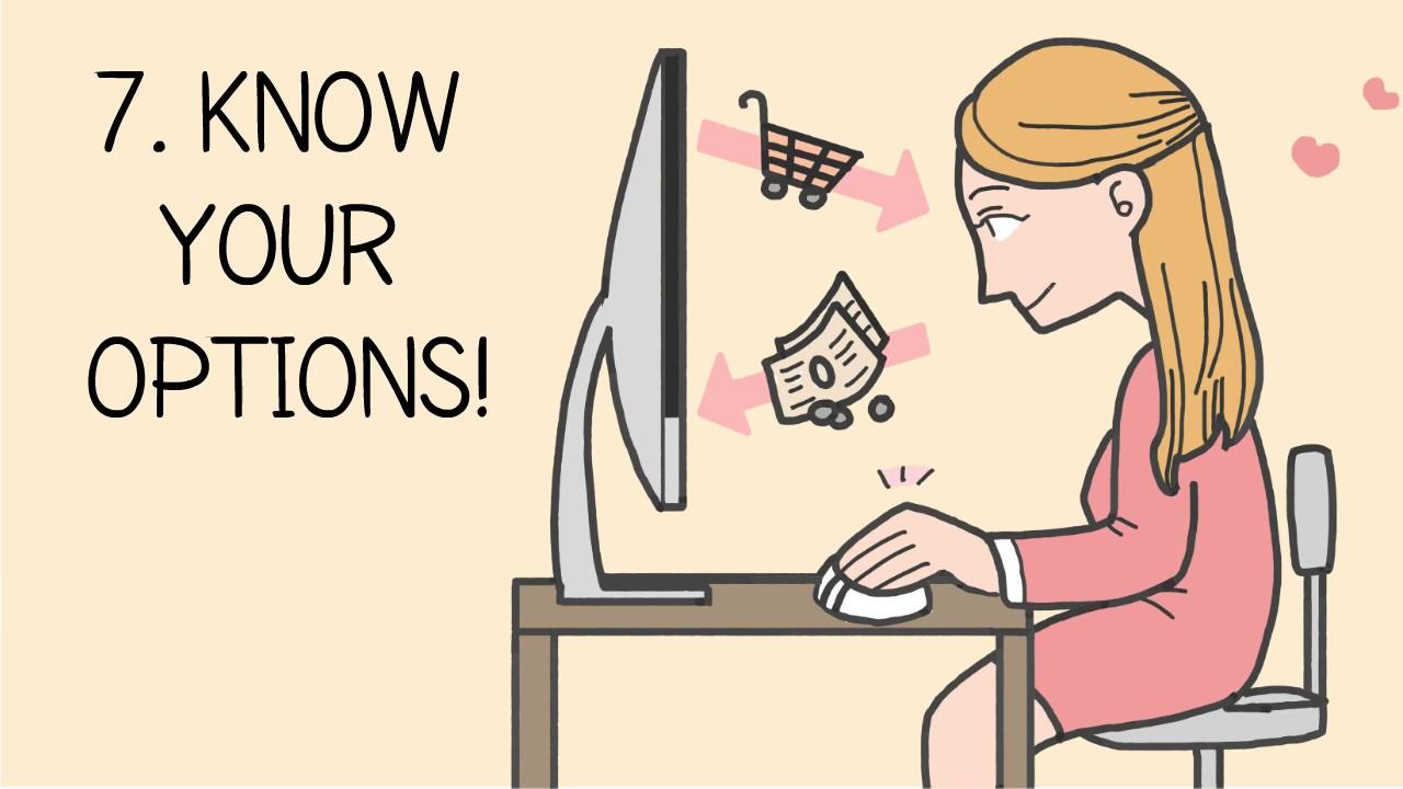 「7つのコツであなたも安心かつ快適なネットショッピングを!」- 7 Steps to Smart Online Shopping!
