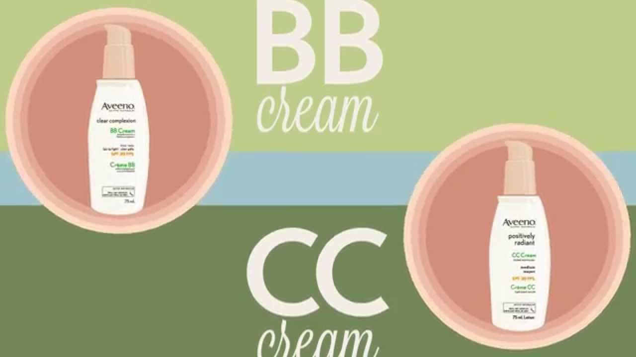 美容対策!一発で分かるBBクリームとCCクリームの違い