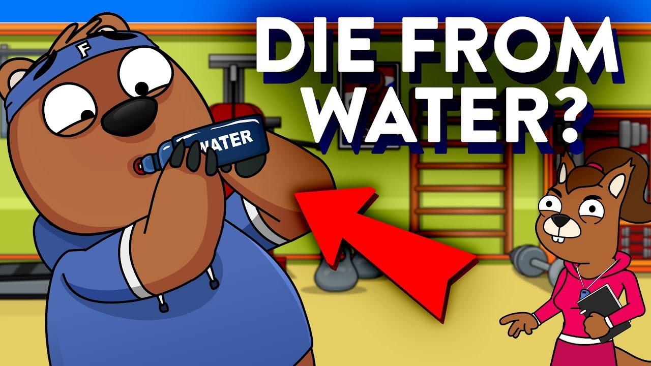 「水を飲み過ぎてもヤバい?2分間で分かる「水中毒」」- Could You Die From Drinking Too Much Water?