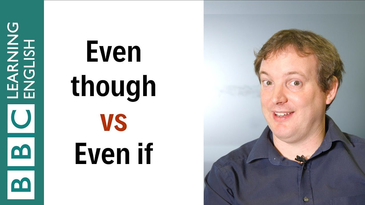 【1分英語】even thoughとeven if はどう違う?