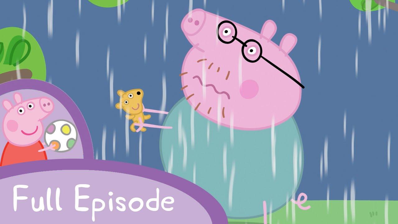 「大雨の中のペッパピッグ」- Peppa Pig: Thunderstorm