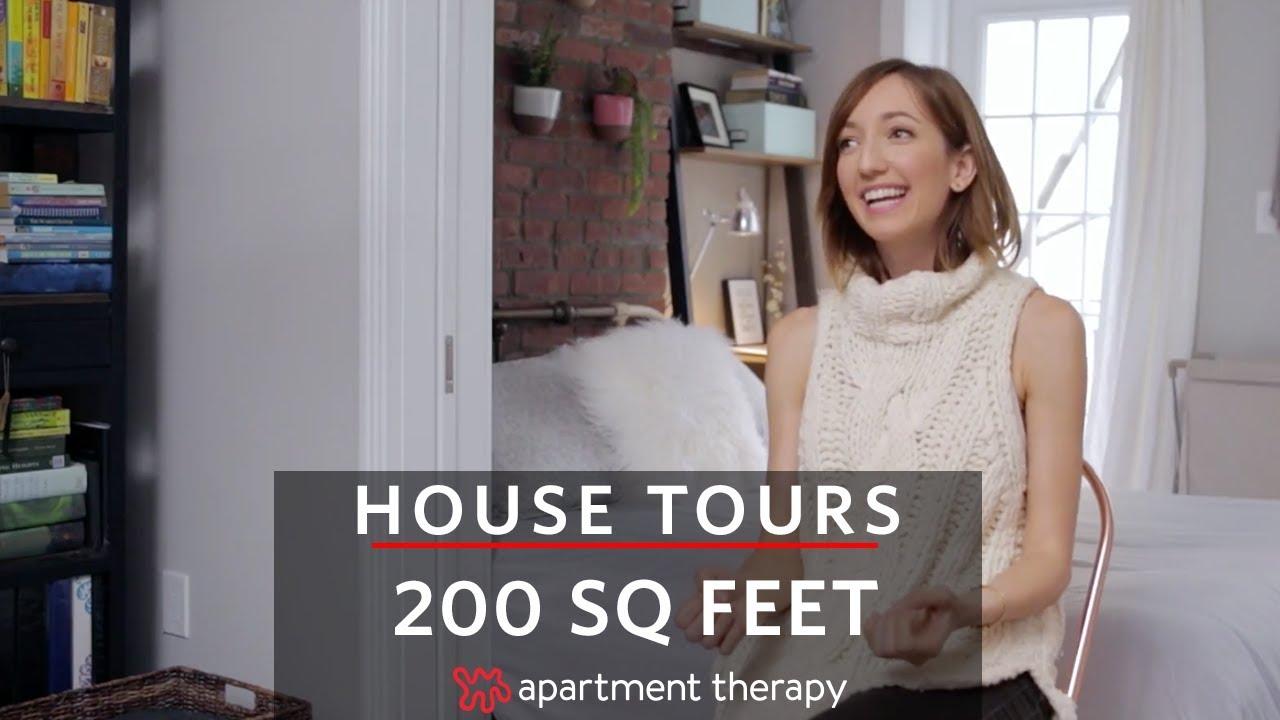 「6坪の空間で快適な暮らし」- 200 Square Feet in Manhattan