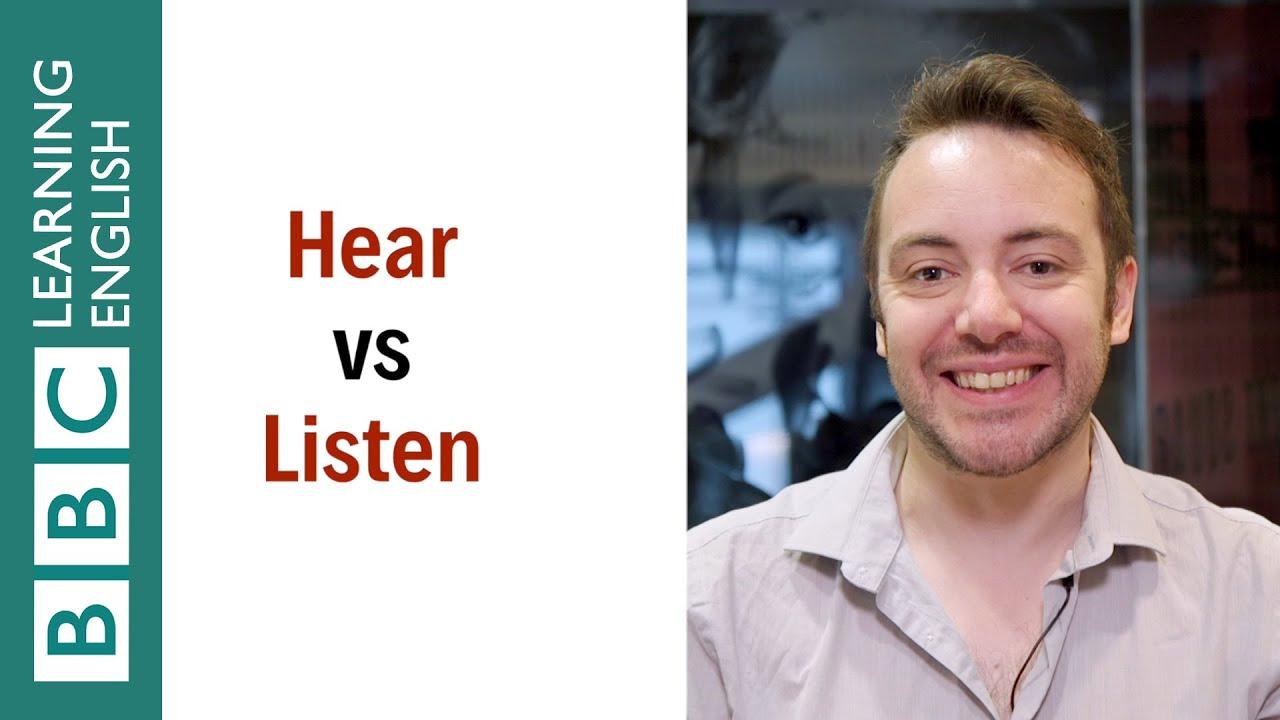 【1分間英語】hear と listen の違いって何?