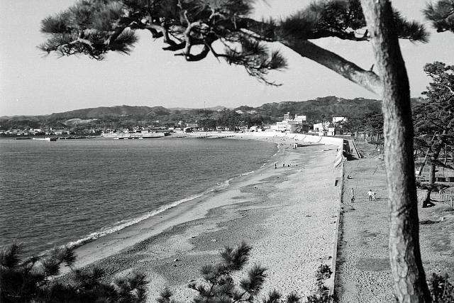 昭和43年 三壺崎から見た扇ヶ浜