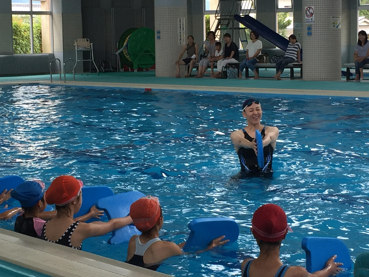 元水泳日本代表選手・萩原智子さんが語る「夢のつかみ方」4