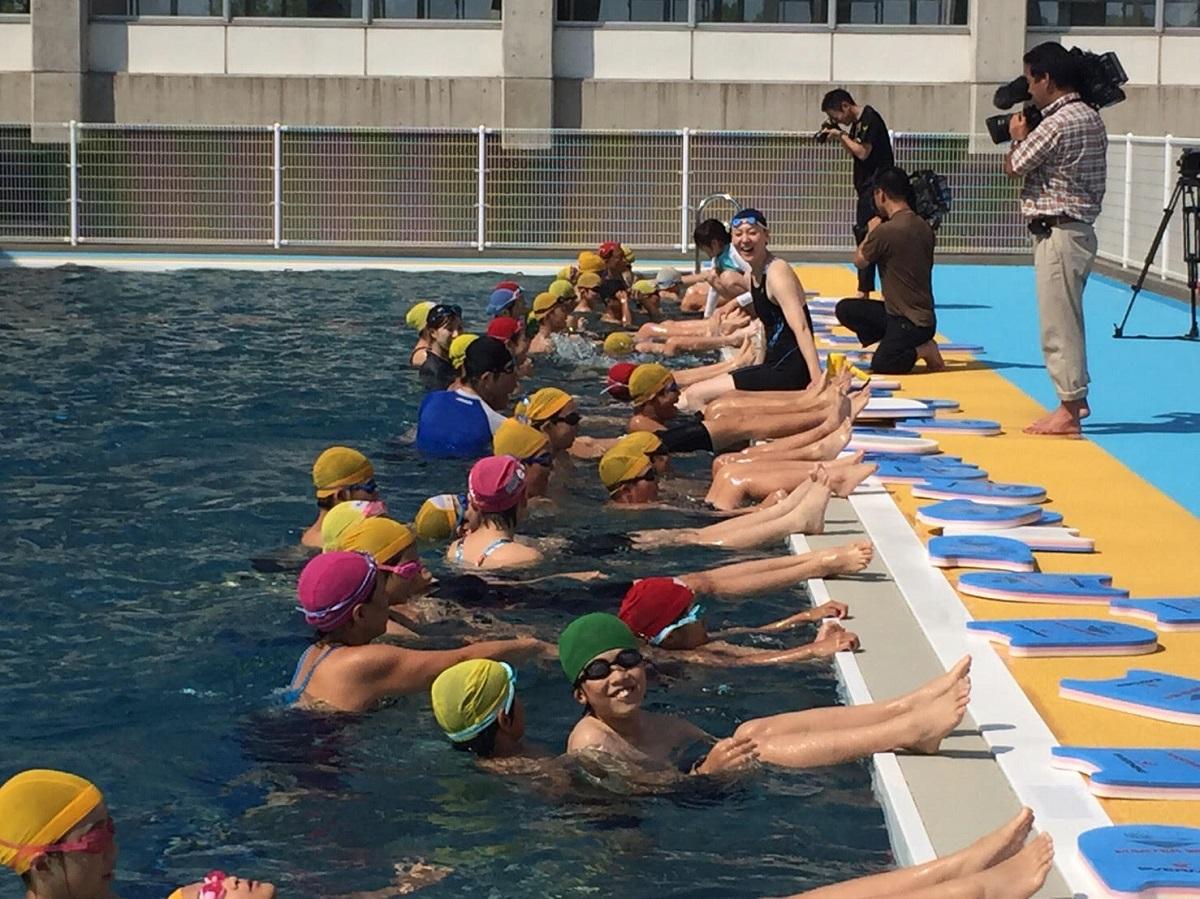 元水泳日本代表選手・萩原智子さんが語る「夢のつかみ方」後編4