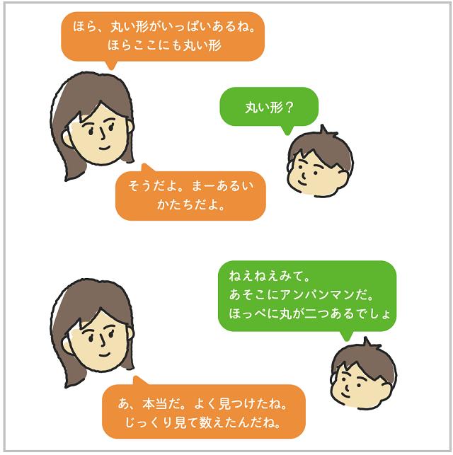 数学的な親子の会話