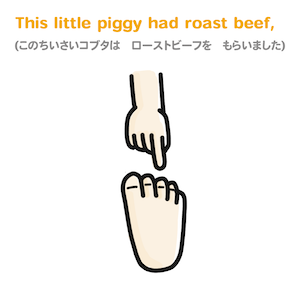 This little piggy had roast beef,
