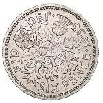 6ペンス硬貨