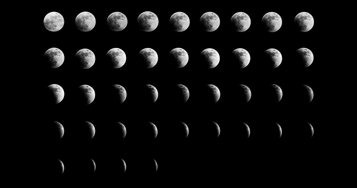 月の満ち欠けを調べる2