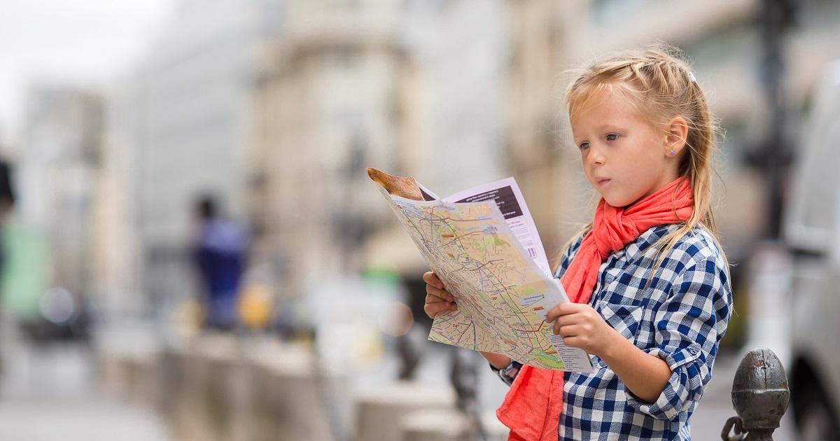 もっと地図を楽しもう! 「地図が読める」だけじゃない、子どもが地図に親しむメリット