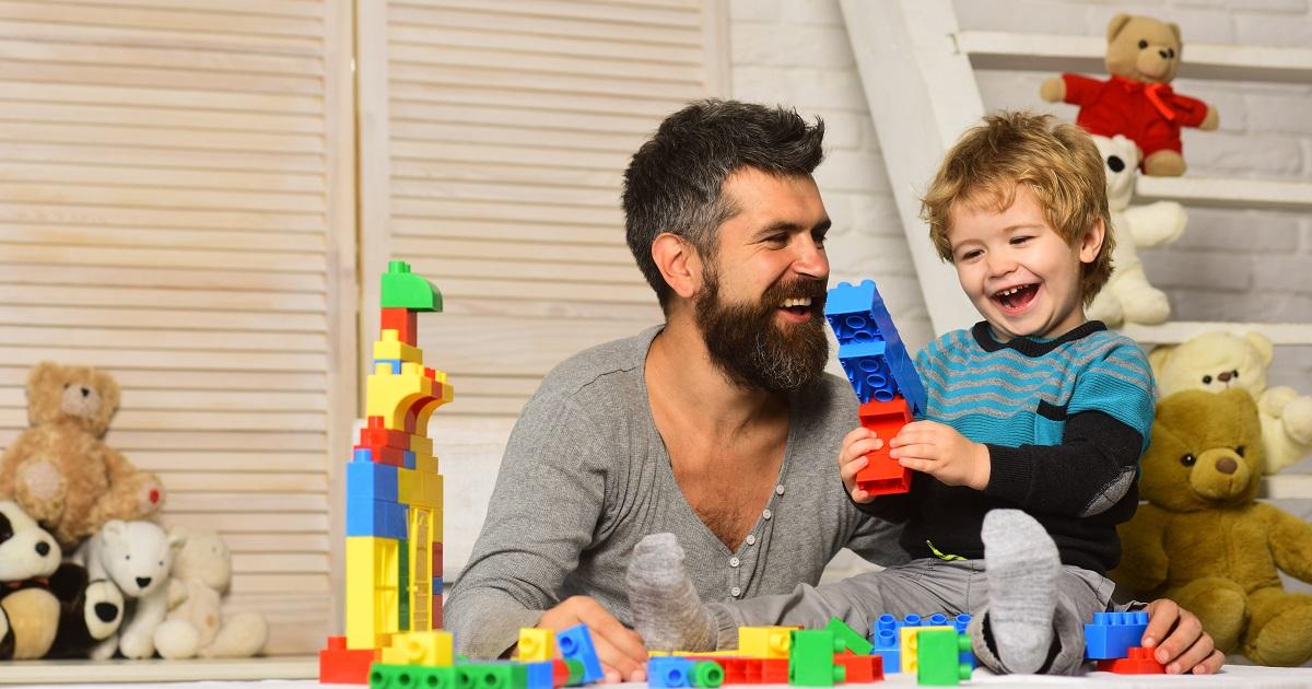ブロックのおもちゃに秘められた教育効果3
