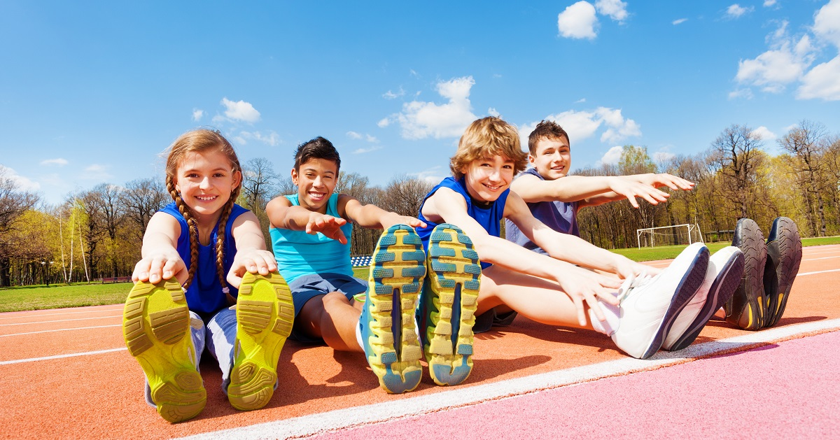 ケガをしにくい体に! 柔軟性が子どもにとって大切な理由