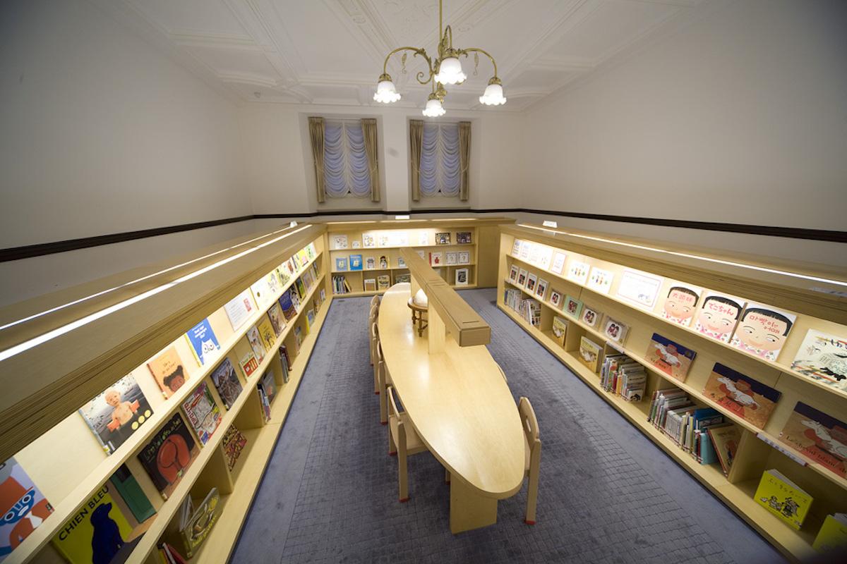 子どもを魅了する夢のお城『国立国会図書館国際子ども図書館』4