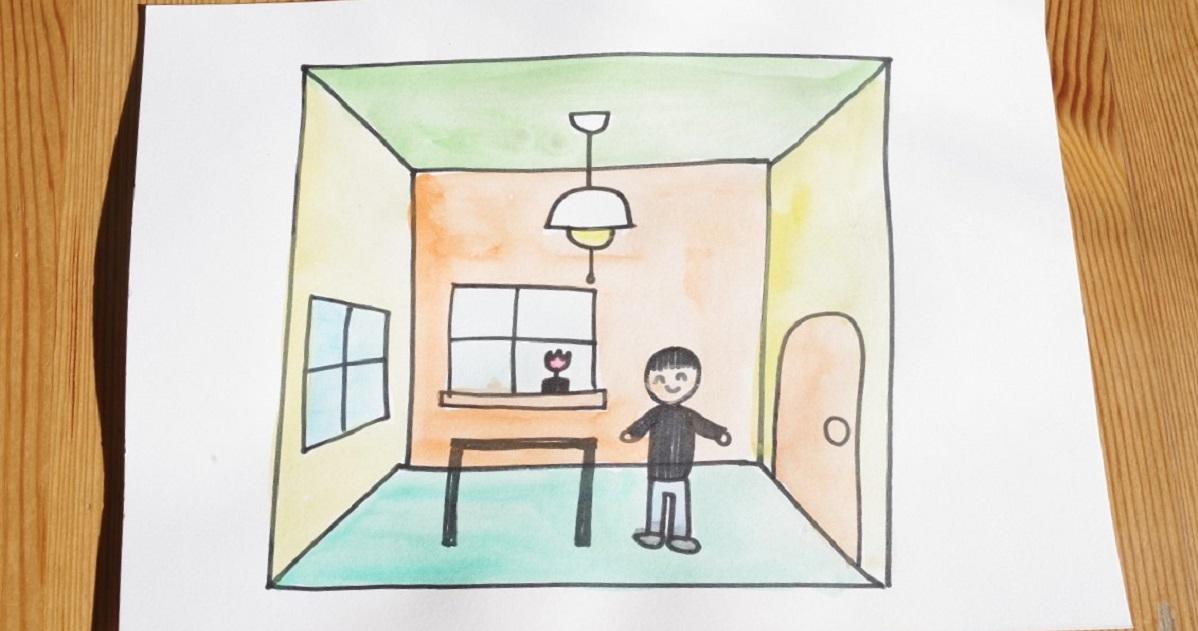 空間認識力が必要な「遠近法」。立体的な絵が描けるようになるのは小学校〇年生?