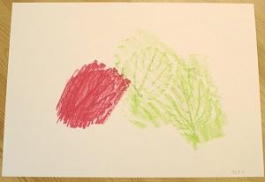 子どもたちの想像力や好奇心を刺激する「葉っぱのフロッタージュ」4