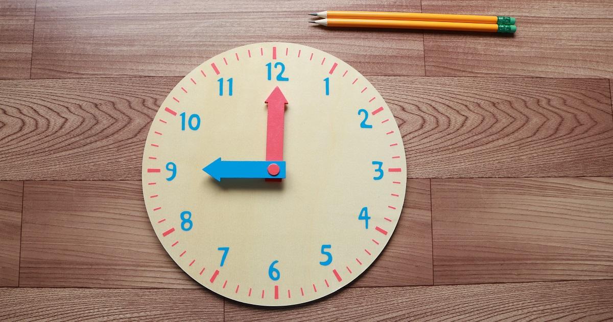 【レベル別 時計の教え方】2