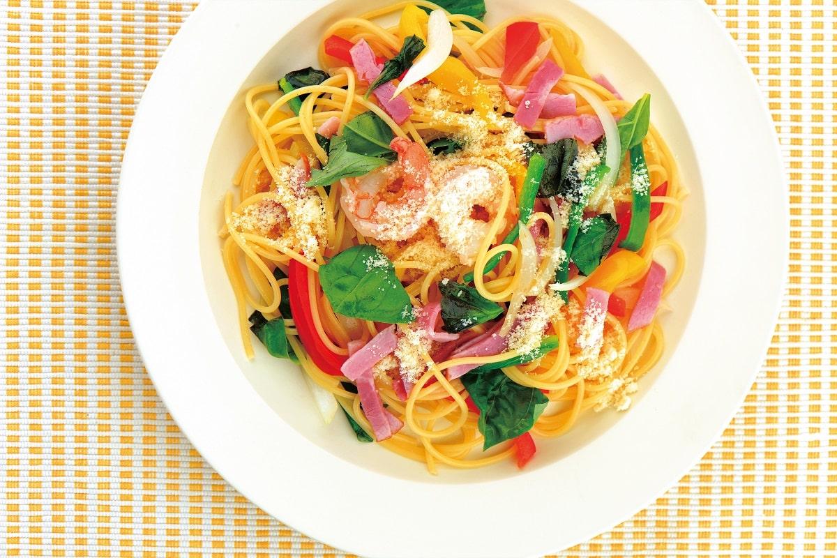 スポーツジュニアのための「栄養満点パスタ」レシピ2