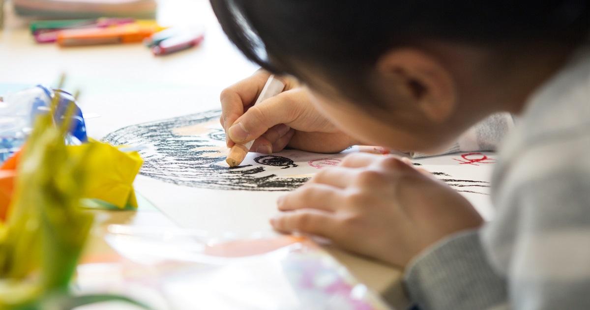 夏休みポスターの描き方テクニック【小学生向け】2