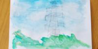 五感で描くスケッチ「風を描いてみよう♪」――子どもの想像力ってすごい!