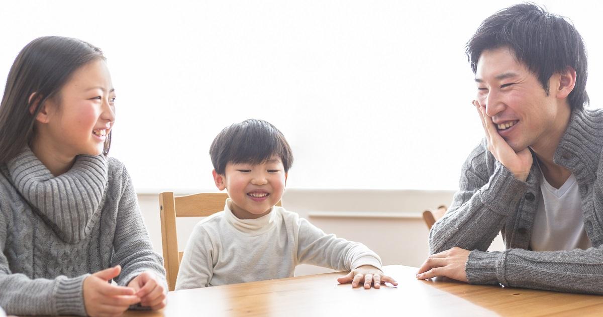 コミュニケーション能力が高い子どもは、家族との会話が多かった! その理由は――
