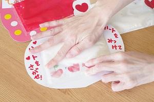 バレンタインアート6