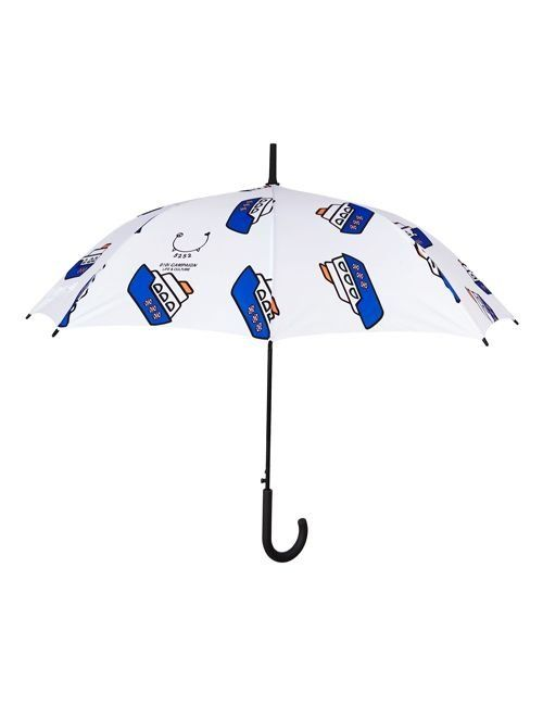 [5252] BOAT PATTERN UMBRELLA