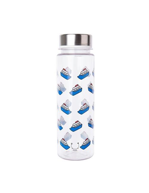 [5252] BOAT PATTERN BOTTLE