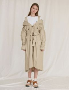 [oioi] 4 WAY TRENCH COAT