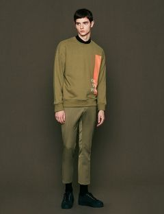 [VOIEBIT] EASY CROP SLACKS KHAKI