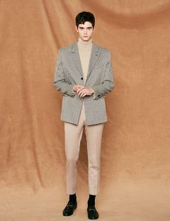 [VOIEBIT] EASY CROP SLACKS BEIGE