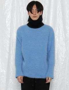 [ROCKET X LUNCH] R ANGORA TURTLENECK TOP