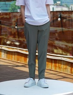 [USUAL EDIT] Neutral Trousers [Khaki]