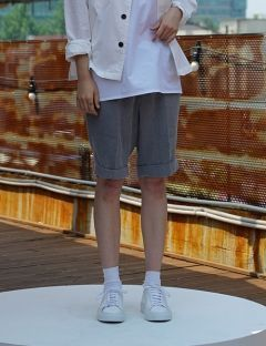 [USUAL EDIT] Urbane Shorts [Gray]