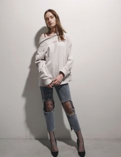 [1159STUDIO] MH1 OFF SHOULDER HOOD [IV]