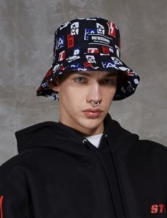 [SHETHIS COMMA] ANT BUCKET HAT